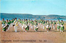- Dpts Div.-ref-XX627- Bouches Du Rhone - Marseille - Fanfare Saint Chamasseine - Fanfares - Instruments - Musique - - Marseille
