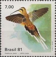 BRAZIL - HUMMINGBIRDS (Phaethornis Pretrei) 1981 - MNH - Hummingbirds