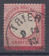 DR Minr.19 Plf.LXXX Gestempelt - Deutschland