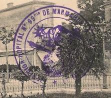 MARMANDE Lot Et Garonne. HOPITAL N° 99 Bis De La MISERICORDE. - Storia Postale