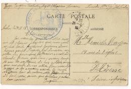 Dépot ALSACIENS LORRAINS. DEPOT DU FORT DE LOURDES. Hautes Pyrénées. 1918. - 1877-1920: Semi Modern Period