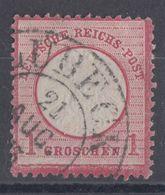 DR Minr.19 Briefstück Hufeisenstempel Lübeck 21.8. - Deutschland