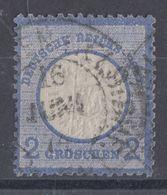 DR Minr.20 Hufeisenstempel 16.6. - Deutschland