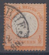 DR Minr.14 Gestempelt Hufeisenstempel BHF - Deutschland