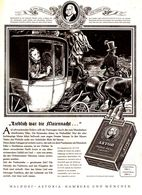 Original-Werbung/ Anzeige 1953 - ASTOR / WALDORF ASTORIA CIGARETTEN / NIKOLAUS LENAU - Ca. 235 X 320  Mm - Werbung