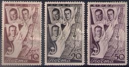Russia 1938, Michel Nr 599-601, MH OG - Nuovi