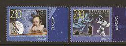 """KAZAKHSTAN / KASACHSTAN - EUROPA 2009 - """"ASTRONOMIA"""" -   -  SERIE De 2 V. DENTADAS - Europa-CEPT"""