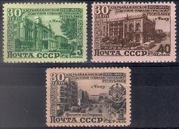 Russia 1950, Michel Nr 1477-79, MLH OG - 1923-1991 USSR