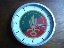 LEGION ETRANGERE Pendule Murale Horloge 20cm REP REI REG REC RMVE CALVI PARA TAP - Unclassified