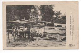 WW1 Aisne Vic Sur Aisne  Grande Guerre Sur Une Péniche Du Pont La Garde Au Repos Collection Bazille - War 1914-18