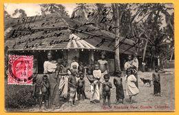Colombo - Typical Roadside View - Borella - Enfants Nus - Animée - PLATE & Co - 1910 - Sri Lanka (Ceylon)