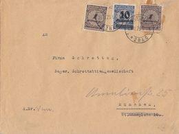 DR Ortsbrief Mif Minr.2x 325A,335A München 28.11.23 Novemberbrief - Deutschland
