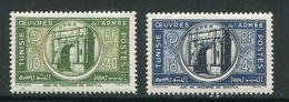 TUNISIE- Y&T N°326 Et 327- Neufs Avec Charnière * - Neufs