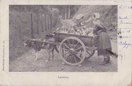 Laitières - Rosenbaum. Bruxelles Pl. 261 - Carte Précurseur 1900 - Old Professions