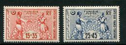 TUNISIE- Y&T N°335 Et 336- Neufs Avec Charnière * - Neufs