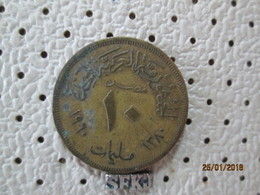 EGYPT 10 Milliemes 1960 - 1370 # 6 - Egypt