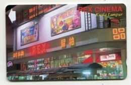 TK 31853 MALYSIA - 25URCA.../B Rex Cinema Kuala Lumpur MINT! - Malaysia