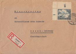 DR R-Brief EF Minr.842 OER Krefeld 2.5.43 - Germany