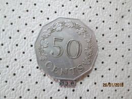 MALTA 50 Cents 1972  # 6 - Malta