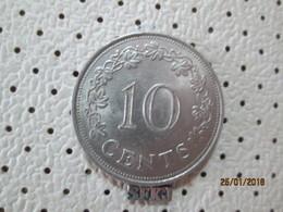 MALTA 10 Cents 1972  # 6 - Malte