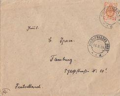 Rußland Brief Mef Minr.10x Minr.41 SR Vom 16.9.08 Gel. Nach Deutschland Flensburg 1.10.08 Ansehen !!!!!!!!!!!! - 1857-1916 Imperium