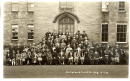 YORKS -  MULGRAVE CASTLE - 1929 (WHITBY BOARD OF GUARDIANS (Abolished 1930)) RP Y3348 - Whitby