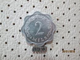 MALTA 2 Mils 1972  # 6 - Malta
