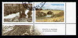CYPRUS 2001 - Set Used - Chypre (République)