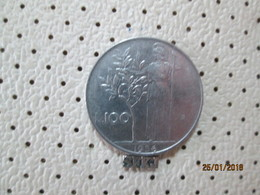 ITALY 100 Lire 1956  # 6 - 1946-… : Republic