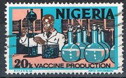 1979 -  NIGERIA - PRODUZIONE DI VACCINI / VACCINE PRODUCTION - USATO / USED. - Nigeria (1961-...)