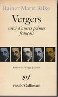 "Rainer Maria Rilke VERGERS Edit Poesie Gallimard ""GROUPER POUR REDUIRE LE PORT"" (bib8) - Poésie"