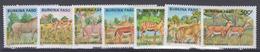 BURKINA FASO     1986        710 / 716              COTE    16 , 00        EUROS       ( S 800 ) - Burkina Faso (1984-...)