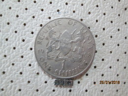 KENYA 1 Shilling 1968  # 6 - Kenya