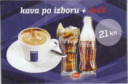 Croatia Zagreb 2017 / Coca Cola + Coffee / Magnet - Otras Colecciones