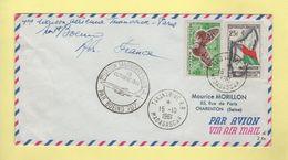 1ere Liaison Aerienne Tananarive Paris - Madagascar - 1961 - Madagascar (1960-...)