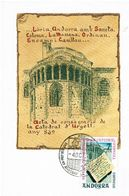MAX ANDORREAE CATEDRAL SEO 1975 - Cartes-Maximum (CM)