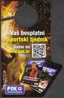 Croatia Zagreb 2017 / Weekly Sport Magazine / The First Sports Betting - Sports