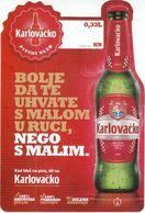 """Croatia Zagreb 2017 / Beer """"Karlovacko"""" - Otras Colecciones"""