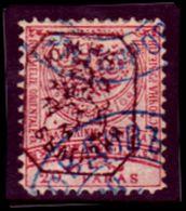 Bulgaria-0072 - Bulgaria Del Sud 1885: Y&T N. 11 (o) Used - Privo Di Difetti Occulti. - Sud Bulgaria