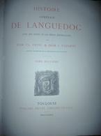 LIVRE SUR HISTOIR GENERALE LANGUEDOC - Livres, BD, Revues