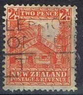 1935 - NUOVA ZELANDA / NEW ZEALAND - MAORI CONCIL HOUSE - USATO / USED. - Usati