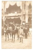 CPP 058 - CARTE PHOTO - PARIS - GRAND PALAIS - Concours Hippique, Attelage, 1910 - Francia