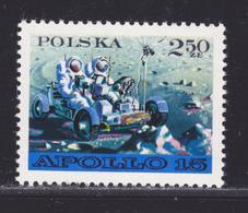 POLOGNE N° 1969 ** MNH Neufs Sans Charnière, TB (D4839) Cosmos, Apollo 15 - 1944-.... República