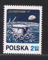 POLOGNE N° 1970 ** MNH Neufs Sans Charnière, TB (D4840) Cosmos, Luna 17 - 1944-.... República