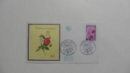 France : FDC : 1 Er Jour  : :Floralies  Orléans    1967   N°1528  : 1 Enveloppe - FDC