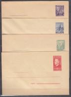 Yugoslavia Republic 1949 Industry Motives, Postal Stationery Cards - Covers In Excellent Mint Condition - 1945-1992 Socialistische Federale Republiek Joegoslavië