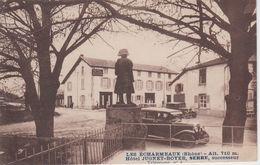 CPA Les Echarmeaux - Hôtel Jugnet-Boyer, Serre Successeur (avec Véhicules Années 30) - Other Municipalities