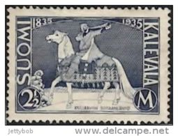 FINLAND 1935 Kalevala 2.5m  Mint - Finnland