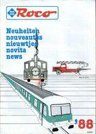 Catalogue ROCO 1988 (nouveautés) - HO Scale