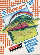 Catalogue ROCO 1987 (nouveautés) - HO Scale